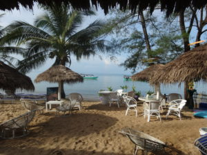 Girls Who Travel | a beach in Sihanoukville, Cambodia
